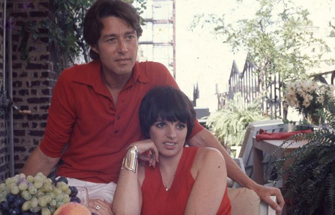 "Good friends Halston and Liza Minnelli in director Frédéric Tcheng's ""Halston."" Photo: Courtesy the filmmakers"