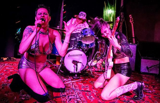 Copyslut at the Queer Music Festival @ Whiskey Tip, Santa Rosa Sun 16