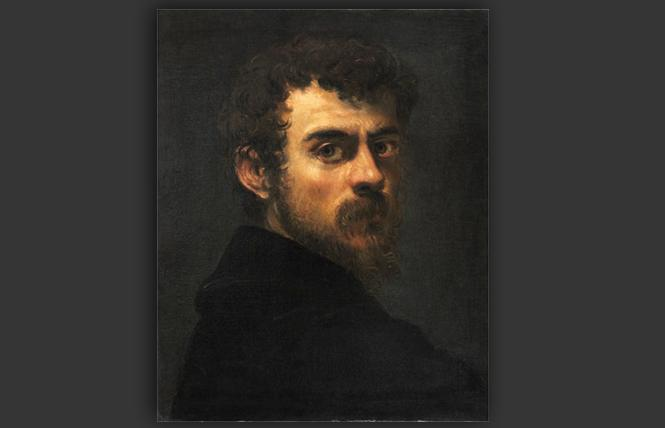 Tintoretto's self-portrait as a young man (1546-48), now at the National Gallery of Art in Washington, DC. Photo: Philadelphia Museum of Art/ARS