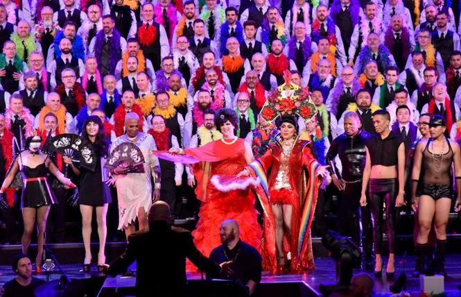 San Francisco Gay Men's Chorus @ Sydney Goldstein Theater Fri 21.  photo: Gooch