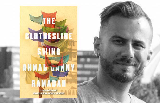 Author Ahmal Danny Ramadan. Photo: Mark Carter