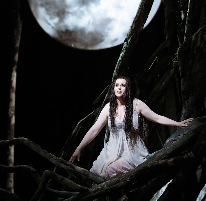 "Soprano Rachel Willis-Sørensen in the title role of Dvo?ák's ""Rusalka."" Photo: Cory Weaver/San Francisco Opera"