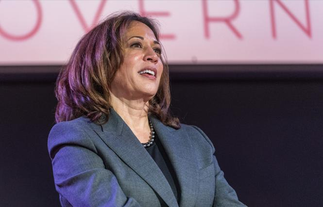 Senator Kamala Harris. Photo: Jane Philomen Cleland