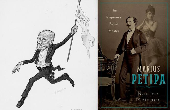 Caricature of ballet master Marius Petipa. Photo: Oxford University Press