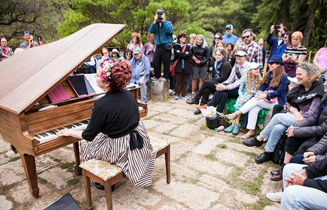 Suzanne Ramsey at Flower Piano @ SF Botanical Garden Thu 11