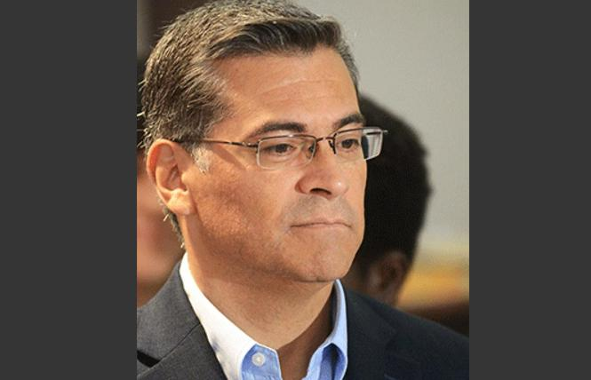 State Attorney General Xavier Becerra. Photo: Rick Gerharter
