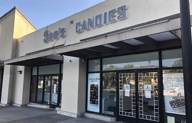 See's Candies is closing its location in San Francisco's Castro neighborhood. Photo: Matthew S. Bajko