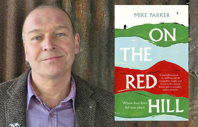 """On the Red Hill"" author Mike Parker. Photo: Peredur Tomos"