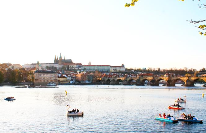 The Prague Castle, center, is one of many attractions visitors can see, along with the Charles Bridge, right. Photo: Heather Cassell