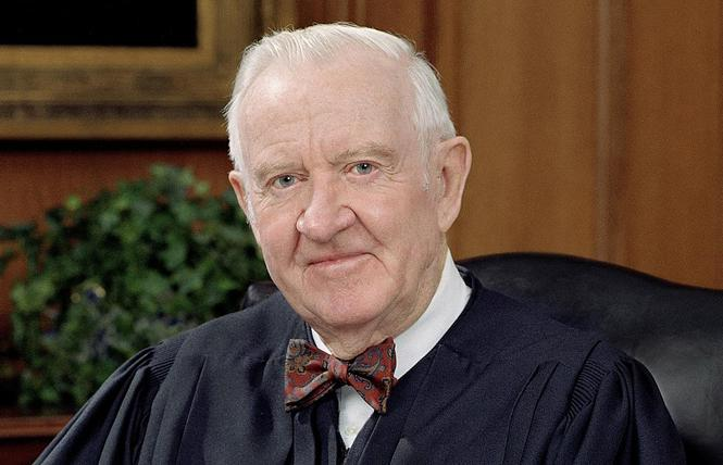 Former Supreme Court Justice John Paul Stevens. Photo: Courtesy Wikipedia
