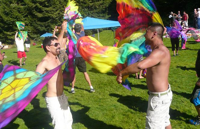 Flagging in the Park @ National AIDS Memorial Grove Sat 27