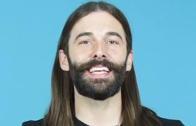 """Queer Eye"" nonbinary, genderqueer beauty expert Jonathan Van Ness. Photo: Courtesy the subject"