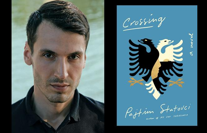 """Crossing"" author Pajtim Statovci. Photo: Courtesy Pushkin Press"