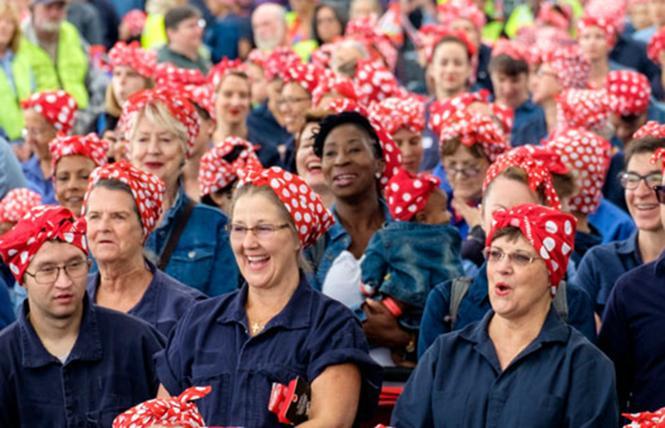 Rosie Rally @ Craneway Pavilion, Richmond Sat 10