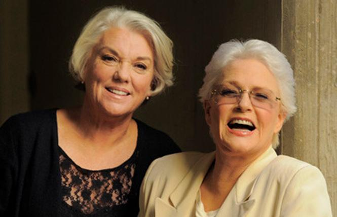Tyne Daly and Sharon Gless