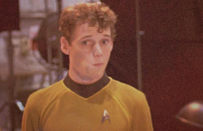 "Anton Yelchin in a popular ""Star Trek"" reboot. Photo: Lurker Productions"