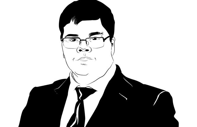 Gavin Grimm. Illustration: Christine Smith