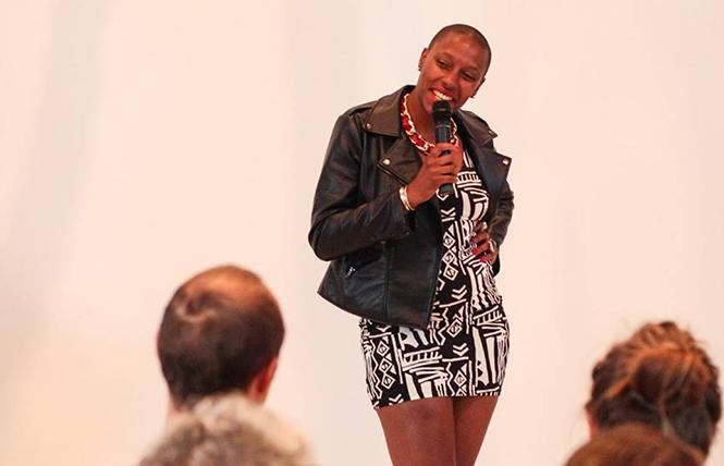 Imani Sims at Rebooting the Future @ SOMArts Cultural Center Fri 16