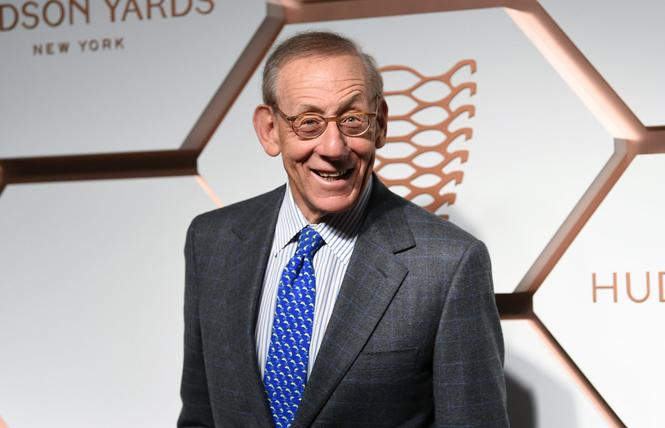 Related Companies Chairman Stephen Ross held a fundraiser for President Donald Trump's re-election last week. Photo: Courtesy AP