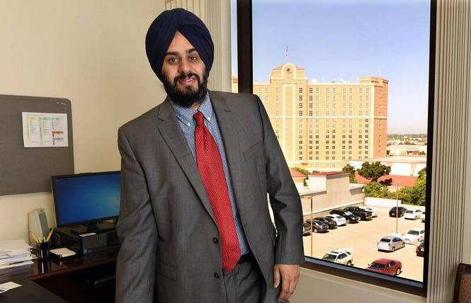 State Senate candidate Many Grewal. Photo: Courtesy Grewal for Senate Facebook page