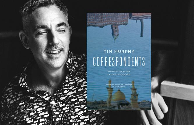 """Correspondents"" author Tim Murphy. Photo: Chris Gabello"