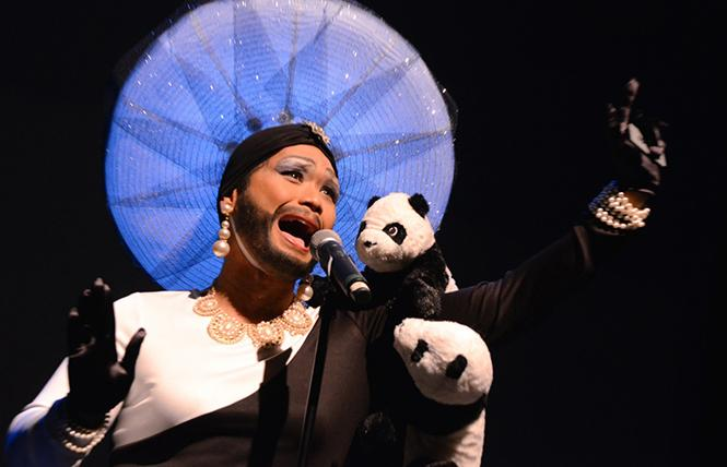 GAPA's Cirque du Runway @ Herbst Theatre Sat 24 photo: Steven Underhill