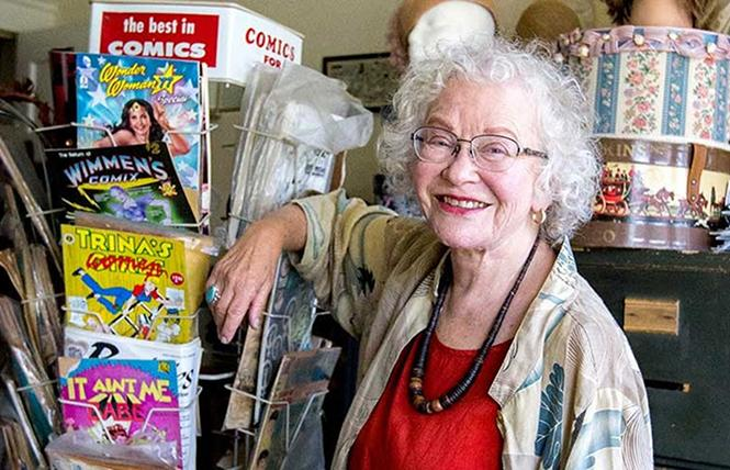 Trina Robbins @ Cartoon Museum Sun 25