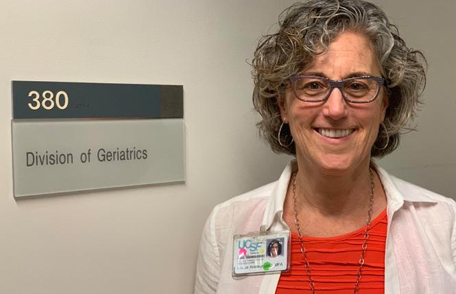 Geriatrician and author Dr. Louise Aronson. Photo: Sari Staver