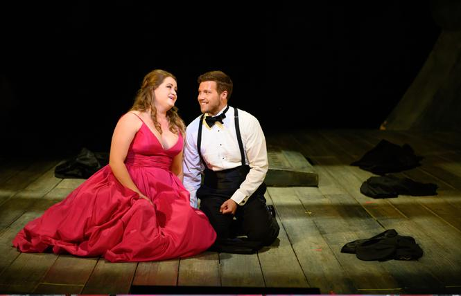 Esther Tonea and Michael Day performed selected scenes in the Merola Opera Program's Merola Grand Finale, Aug. 17 at the War Memorial Opera House in San Francisco. Photo: Kristen Loken