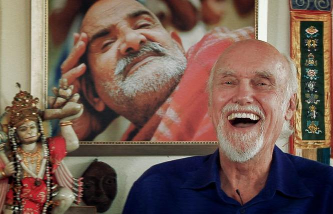 """Scene from director Jamie Catto's """"Becoming Nobody,"""" a bio-pic about guru-philosopher Ram Dass. Photo: Love Serve Remember Films"""