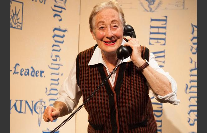 "Terry Baum in ""Hick: A Love Story,"" about the relationship between Eleanor Roosevelt and reporter Lorena Hickock. Photo: SF Fringe Fest"