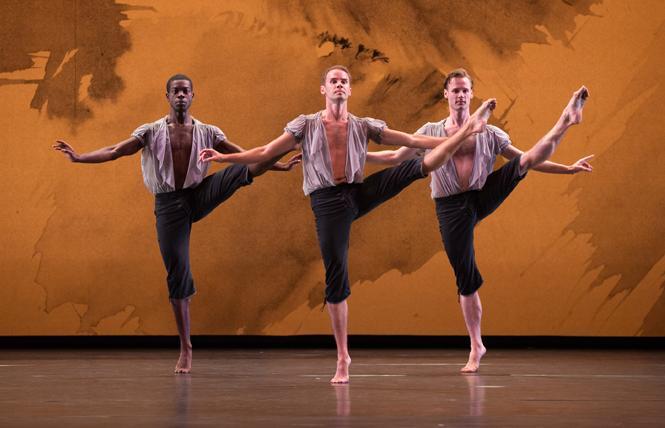 "Mark Morris Dance Group performs ""Mozart Dances"" Fri.-Sun., Sept. 20-22, in Zellerbach Hall. Photo:: Stephanie Berger"