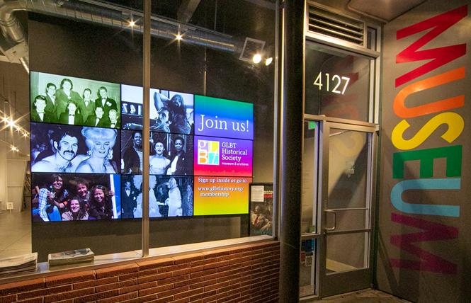 The GLBT Historical Society, which operates its small museum in the Castro, received funding from Grants for the Arts. Photo: Courtesy GLBT Historical Society