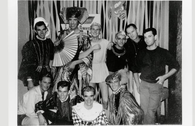 Halloween party at the Hideaway, 1960; courtesy San Francisco History Center, SF Public Library