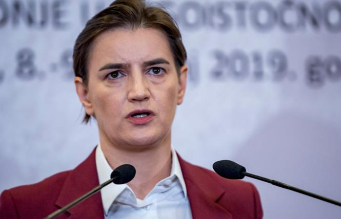 Serbian Prime Minister Ana Brnabic. Photo: Courtesy RFE/RL