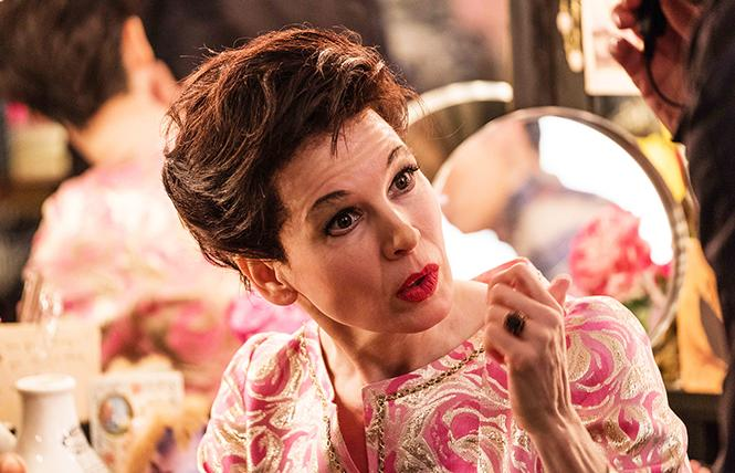 """Renée Zellweger as Judy Garland in the upcoming film """"Judy."""" Photo: David Hindley, courtesy of LD Entertainment and Roadside Attraction"""