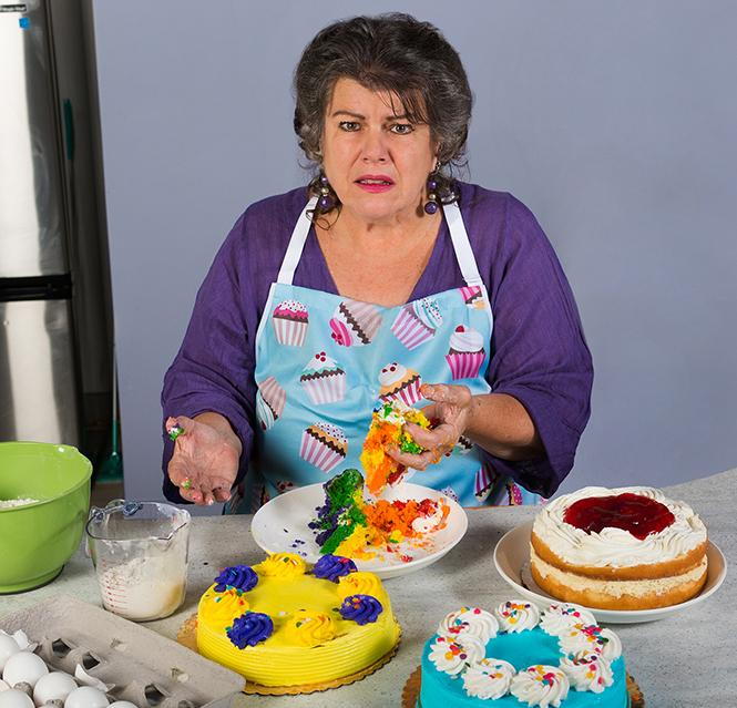 "J.J. Van Name in a publicity photo for ""The Cake"" coming to New Conservatory Theatre Center. Photo: Lois Tema"