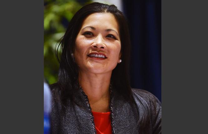 San Francisco district attorney candidate Nancy Tung. Photo: Rick Gerharter