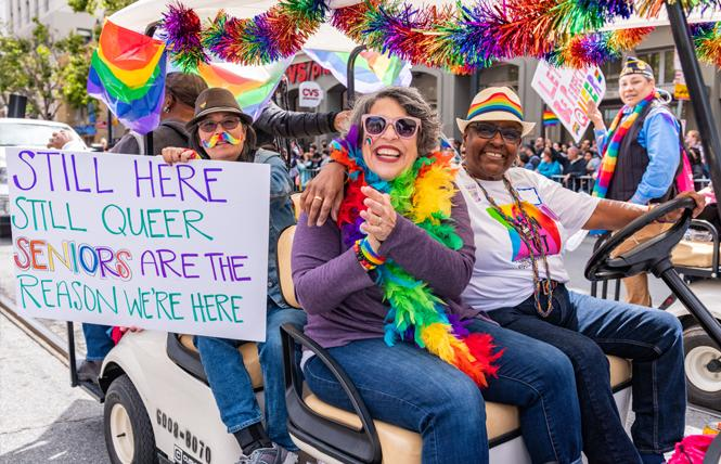 LGBT seniors often face challenges when looking for assisted living facilities; a new company is trying to change that. Photo: Jane Philomen Cleland