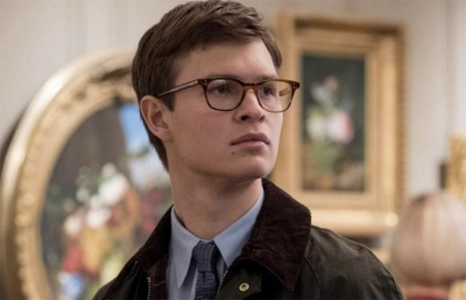 "Ansel Elgort as Theo in Director John Crowley's ""The Goldfinch."" Photo: Warner Bros."