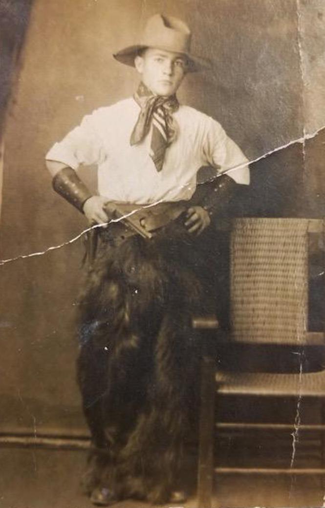 "Isidore (""Izzy"") Friedman in New Mexico, c. 1910s. Photo: Courtesy Friedman family"