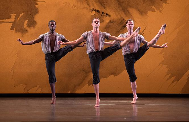 "Mark Morris Dance Group performed ""Mozart Dances"" in Zellerbach Hall, Berkeley. Photo: Rosalie O'Connor"