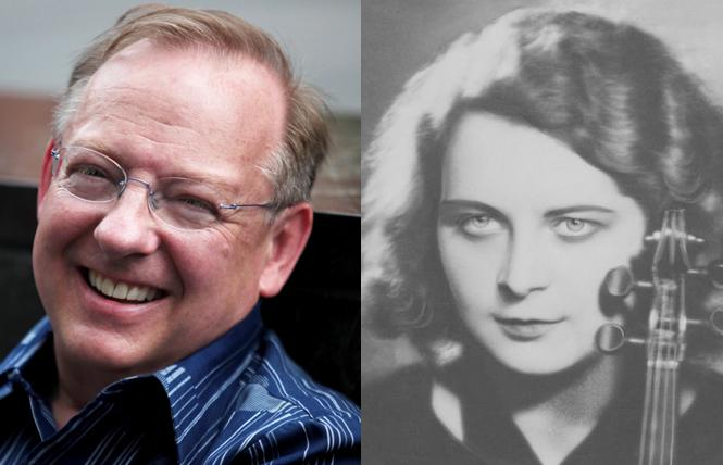LEFT: Philharmonia Baroque Orchestra & Chorale music director Nicholas McGegan is retiring after nearly 35 years leading PBO. Photo: Courtesy PBO    RIGHT: Bard Music West's festival celebrates Polish composer Grazyna Bacewicz. Photo: Courtesy of the National Digital Archives of Poland