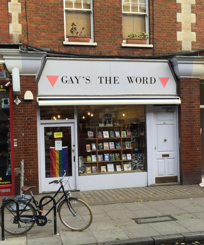 Gay's The Word opened in London in 1979. Photo: Jason Villemez