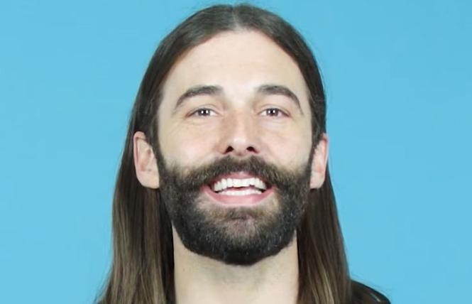 "Jonathan Van Ness discussed seroconverting at 25 on ""The Jimmy Kimmel Show."" Photo: Courtesy the subject"