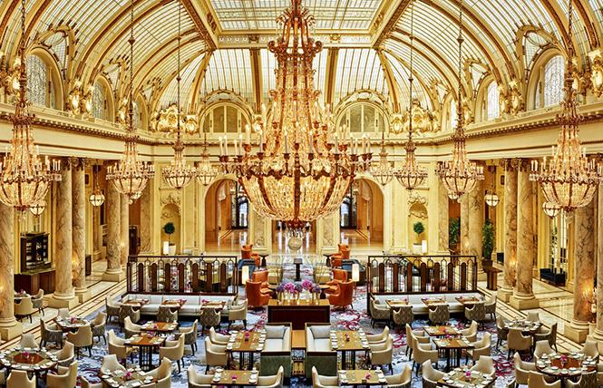 The glorious, glamorous Garden Court Restaurant in The Palace Hotel San Francisco. Photo: Courtesy The Palace