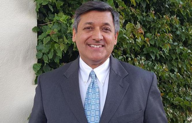 Treasurer José Cisneros. Photo: Cynthia Laird