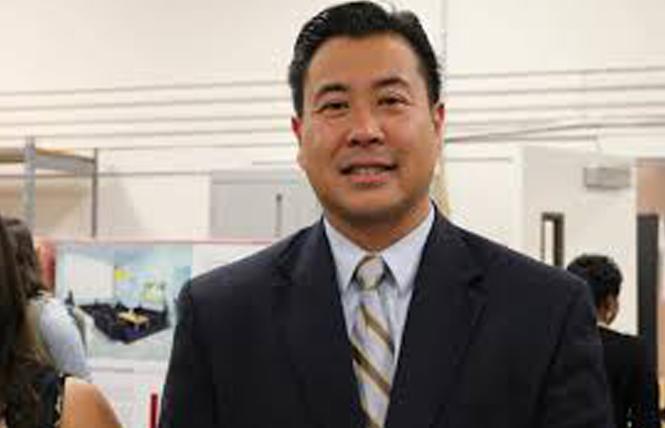 Sheriff candidate Paul Miyamoto