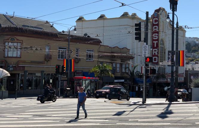 The intersection of Market and Castro streets has seen three vehicle collisions with pedestrians since June. Photo: John Ferrannini