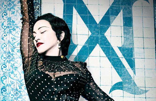 Madonna @ The Golden Gate Theatre, Oct. 31.